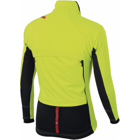 Sportful Fiandre Thermo Cabrio Jacket Men yellow fluo